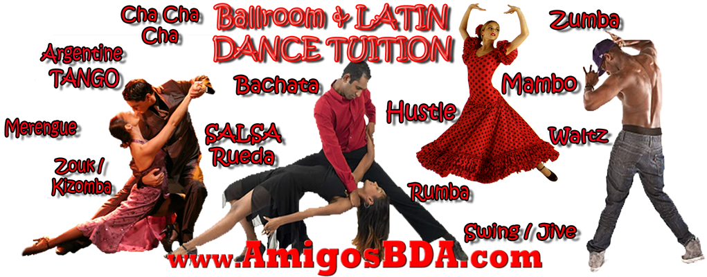 Welcome to Amigos Bailadores Dance Associates Ballroom & Latin Dance Classes in Trinidad & Tobago and the Caribbean.