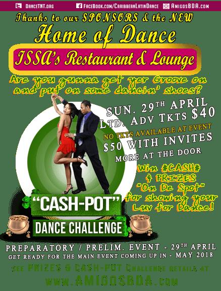 Spot-Cash Ballroom & Latin Dance Challenge