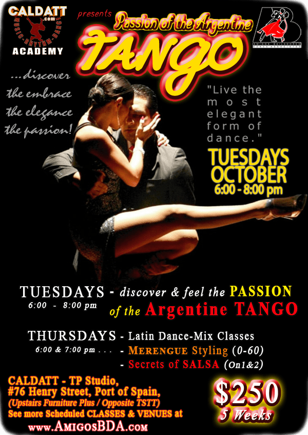 ABDA Argentine TANGO & Tutor Development Training Programme (TDP)