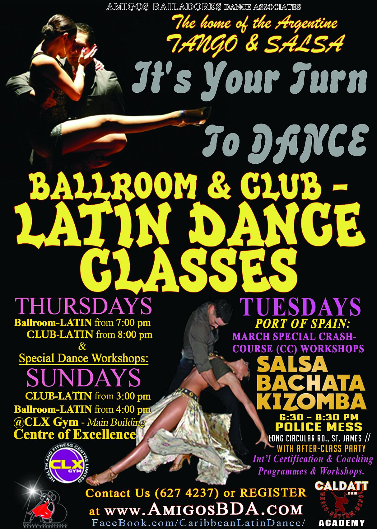 ABDA Ballroom and Latin Dance Classes in Trinidad and Tobago
