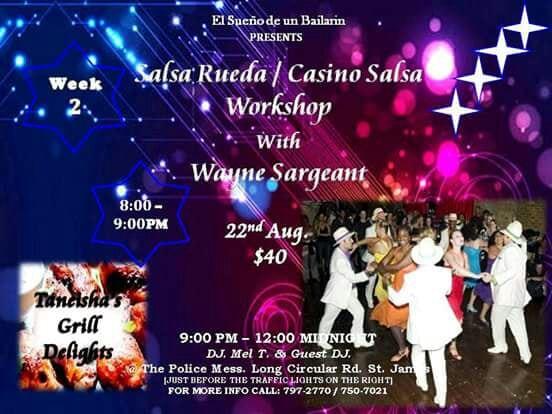 Salsa Rueda Workshop