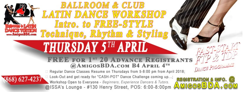 Free-Style Ballroom & Latin Dance Workshop
